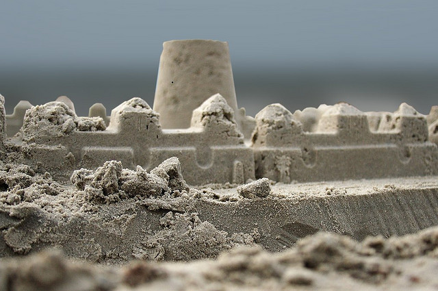 'Disrupting' Performance Reviews and sandcastles